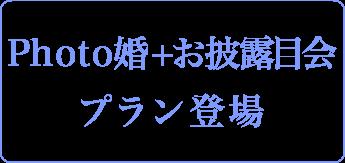 Photo婚+お披露目会プラン登場
