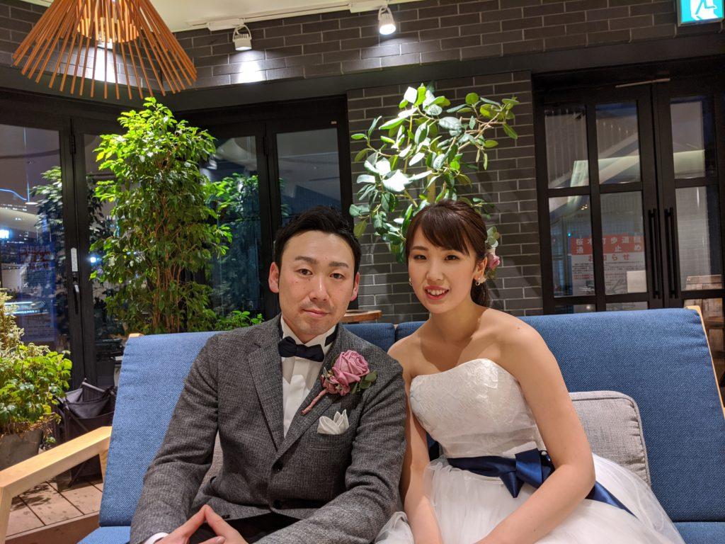 ノートルダム横浜みなとみらいで結婚式式後の二次会
