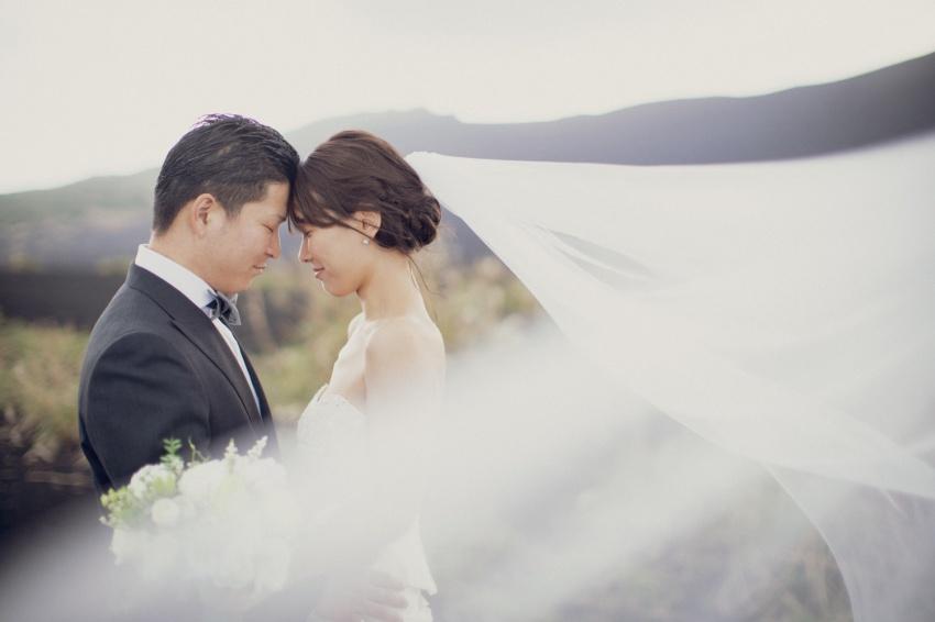 伊豆大島でフォトウエディング~砂漠&サンセット~