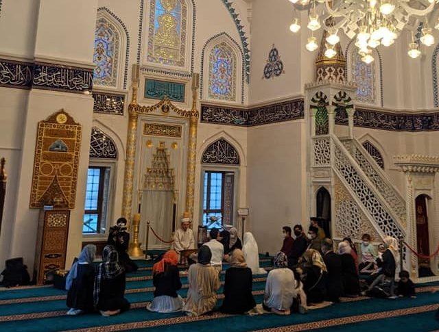 イスラム礼拝堂「東京ジャーミー」での挙式ライブ配信