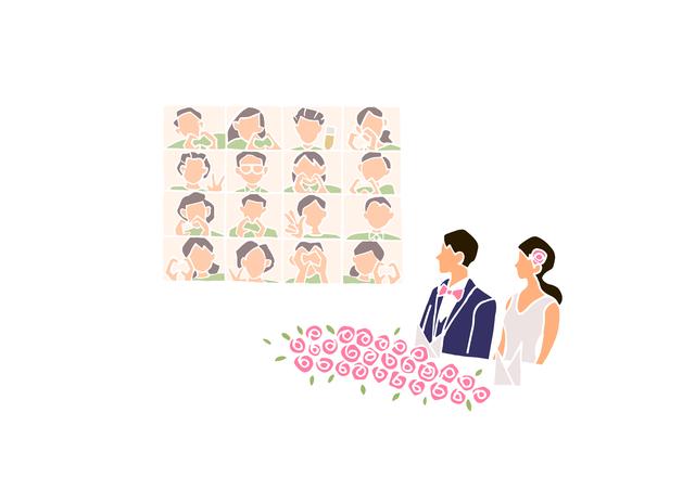8月もオンライン結婚式についても無料相談実施中